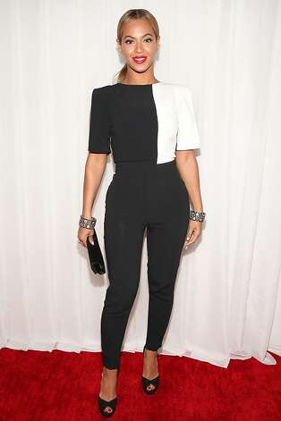 Singer Beyonce attends the 55th Annual GRAMMY Awards at STAPLES Center on February 10, 2013 in Los Angeles, California.  (Photo by Christopher Polk/Getty Images for NARAS) Photo: Christopher Polk, Getty Images For NARAS