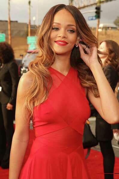 Worst: Nice -- if conservative -- dress, Rihanna, but 