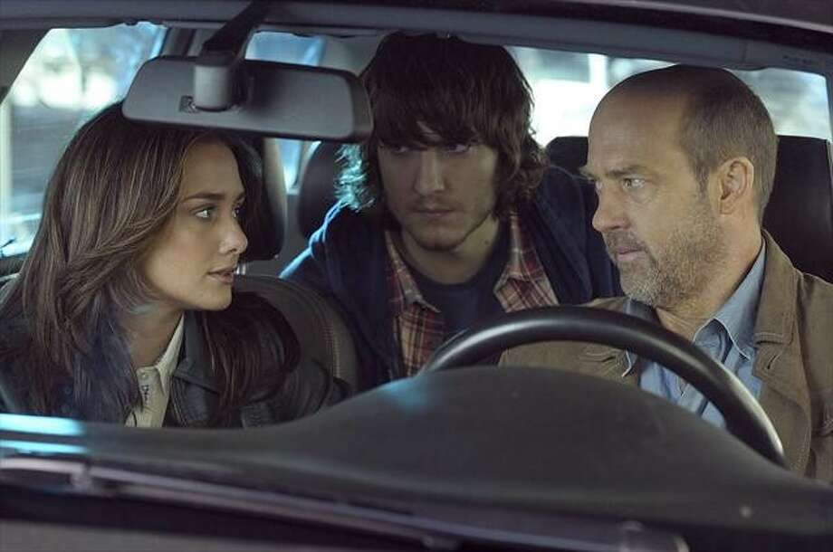 "Addison Timlin, from left, Scott Michael Foster and Anthony Edwards star in the new ABC series ""Zero Hour."" Photo: PHILLIPPE BOSSE, ABC"