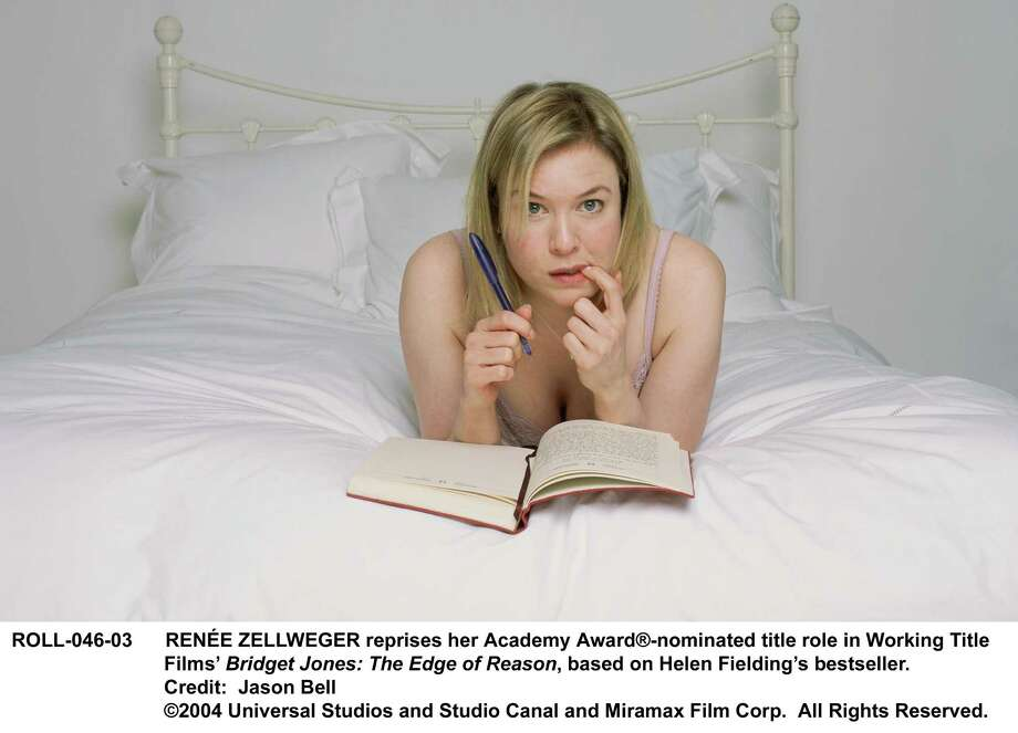 "RENEE ZELLWEGER reprises her Academy Award(R)-nominated title role in Working Title Films'  Bridget Jones: The Edge of Reason, based on Helen Fielding's bestseller.  Credit:  Jason Bell                                      2004 Universal Studios and Studio Canal and Miramax Film Corp.  All Rights Reserved.  HOUCHRON CAPTION  (11/12/2004) SECSTAR COLORFRONT:  Renee Zellweger returns in Bridget Jones: ""The Edge of Reason.""   HOUCHRON CAPTION  (11/12/2004) SECNEWS COLORFONT:  Renee Zellweger returns for a second stint as Bridget Jones, but this sequel isn't quite as adorable as the original. Photo: Jason Bell / handout CD"