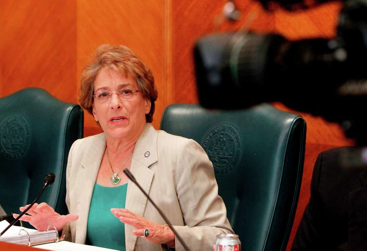 City of Houston Council Member Ellen Cohen, District C, at City Hall on Wednesday, Aug. 8, 2012, in Houston. ( Mayra Beltran / Houston Chronicle )