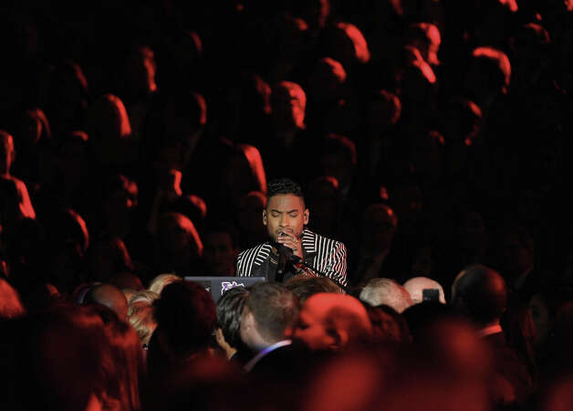 Miguel performs at the 55th annual Grammy Awards on Sunday, Feb. 10, 2013, in Los Angeles. Photo: John Shearer, Associated Press / Invision