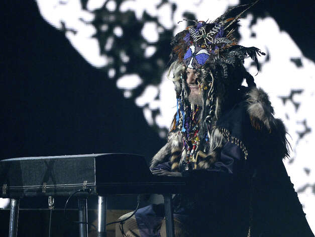 Musician Dr. John performs onstage at the 55th Annual GRAMMY Awards at Staples Center on February 10, 2013 in Los Angeles, California. Photo: Kevork Djansezian, Getty Images / 2013 Getty Images