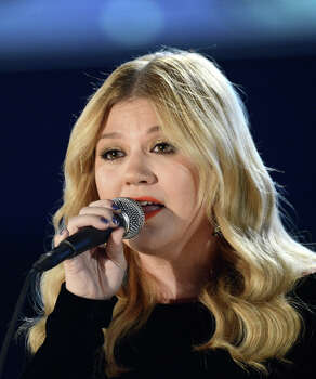 Singer Kelly Clarkson performs onstage at the 55th Annual GRAMMY Awards at Staples Center on February 10, 2013 in Los Angeles, California. Photo: Kevork Djansezian, Getty Images / 2013 Getty Images