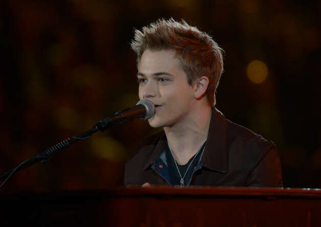 Hunter Hayes performs on stage at the Staples Center during the 55th Grammy Awards in Los Angeles, California, February 10, 2013. Photo: JOE KLAMAR, AFP/Getty Images / AFP