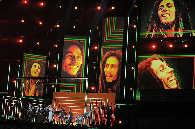 Bruno Mars, Sting and Rihanna Pay Tribute to Bob Marley: