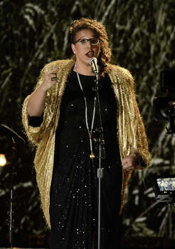 Singer Brittany Howard performs onstage at the 55th Annual GRAMMY Awards at Staples Center on February 10, 2013 in Los Angeles, California. Photo: Kevork Djansezian, Getty Images / 2013 Getty Images