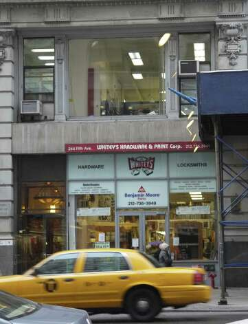 In New York City, the second floor of 244 Fifth Ave. is the home of NYCvirtualoffice.com and the virtual suite of City Council hopeful Rolando Briones' firm. Photo: Michael Quintanilla