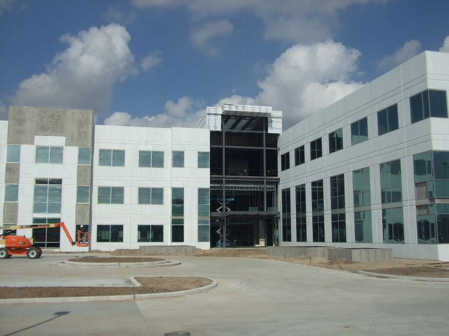 Duke Realty began construction of the office building last summer. Forum Energy Technologies has leased the second and third floors. Photo: Courtesy Photo