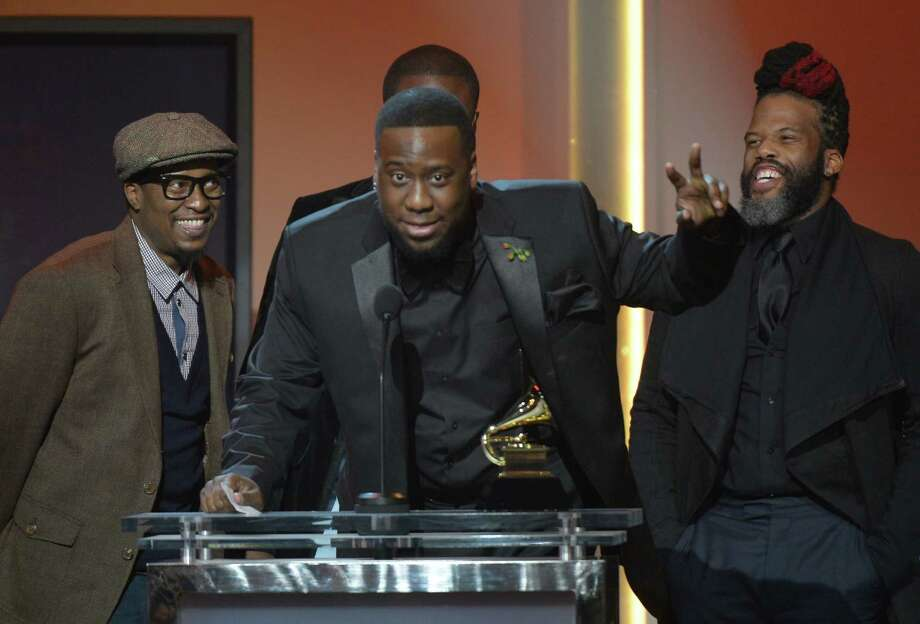 High School for the Performing and Visual Arts alum Robert Glasper and his band, the Robert Glasper Experiment, won the Grammy for Best R&B Album. AFP PHOTO/Joe KLAMARJOE KLAMAR/AFP/Getty Images Photo: JOE KLAMAR, Staff / AFP