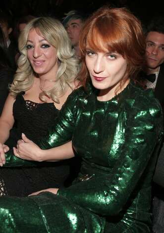 Singer Florence Welch of Florence + the Machine attends the 55th Annual GRAMMY Awards at STAPLES Center on February 10, 2013 in Los Angeles, California. Photo: Christopher Polk, Getty Images For NARAS / 2013 Getty Images
