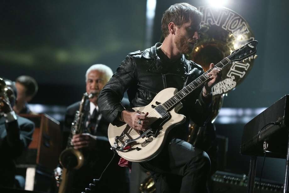 Dan Auerbach of The Black Keys onstage during the 55th Annual GRAMMY Awards at STAPLES Center on February 10, 2013 in Los Angeles, California. Photo: Christopher Polk, Getty Images For NARAS / 2013 Getty Images