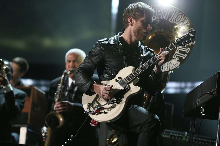 Dan Auerbach of The Black Keys onstage during the 55th Annual GRAMMY Awards at STAPLES Center on Feb