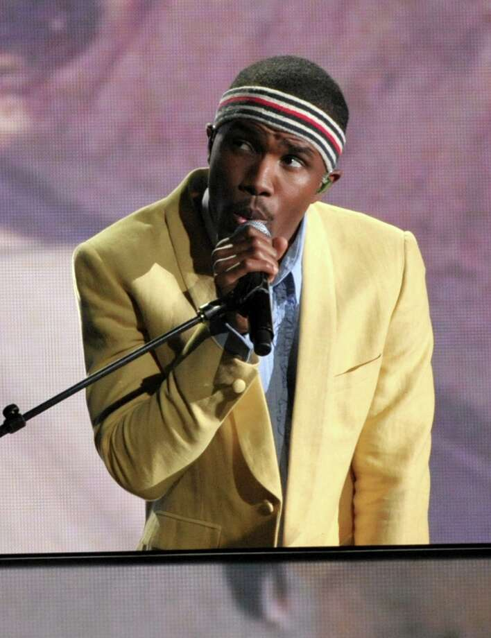 Frank Ocean performs on stage at the 55th annual Grammy Awards on Sunday, Feb. 10, 2013, in Los Angeles. (Photo by John Shearer/Invision/AP) Photo: John Shearer, Associated Press / Invision