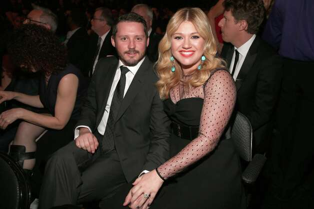 LOS ANGELES, CA - FEBRUARY 10:  Singer Kelly Clarkson (R) and Brandon Blackstock attend the 55th Annual GRAMMY Awards at STAPLES Center on February 10, 2013 in Los Angeles, California. Photo: Christopher Polk, Getty Images For NARAS / 2013 Getty Images
