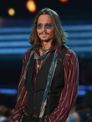 LOS ANGELES, CA - FEBRUARY 10:  Actor Johnny Depp speaks onstage at the 55th Annual GRAMMY Awards at Staples Center on February 10, 2013 in Los Angeles, California. Photo: Kevork Djansezian, Getty Images / 2013 Getty Images