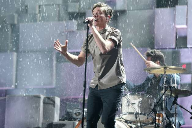 LOS ANGELES, CA - FEBRUARY 10:  Singer Nate Ruess of fun. performs onstage during the 55th Annual GRAMMY Awards at STAPLES Center on February 10, 2013 in Los Angeles, California. Photo: Christopher Polk, Getty Images For NARAS / 2013 Getty Images