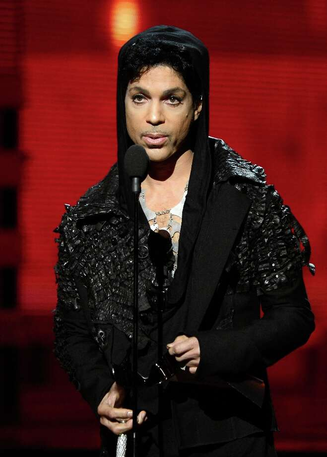 LOS ANGELES, CA - FEBRUARY 10:  Musician Prince speaks onstage at the 55th Annual GRAMMY Awards at Staples Center on February 10, 2013 in Los Angeles, California. Photo: Kevork Djansezian, Getty Images / 2013 Getty Images