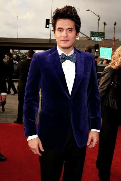 John Mayer arrives at the 55th Annual GRAMMY Awards on February 10, 2013 in Los Angeles, California.