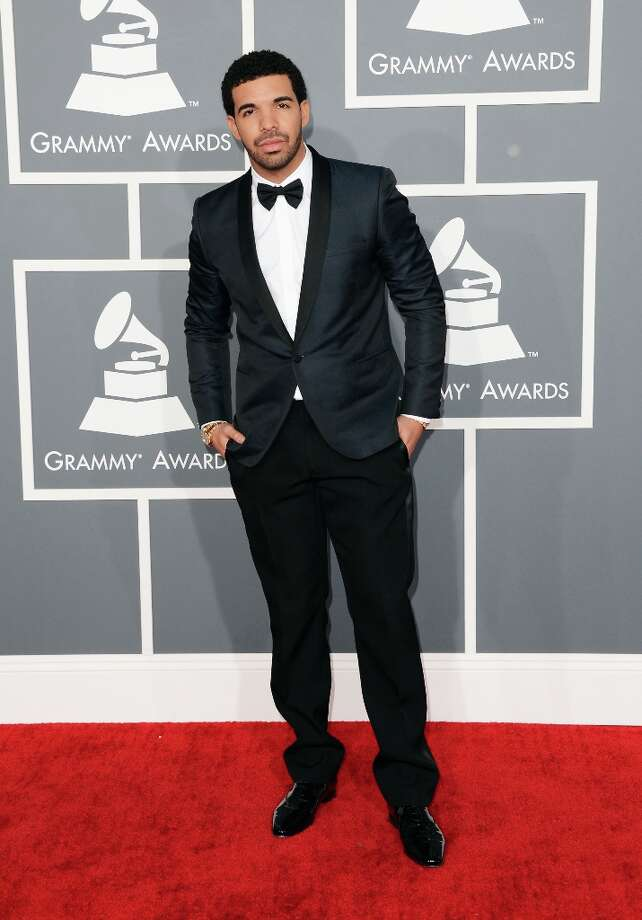Hip-hop artist Drake arrives at the 55th Annual GRAMMY Awards at Staples Center on February 10, 2013 in Los Angeles, California. Photo: Jason Merritt, Getty Images / 2013 Getty Images