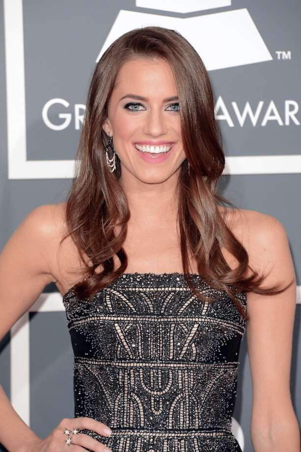 Actress Allison Williams arrives at the 55th Annual GRAMMY Awards at Staples Center on February 10, 2013 in Los Angeles, California. Photo: Jason Merritt, Getty Images / 2013 Getty Images