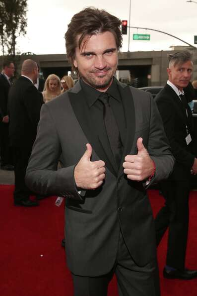 LOS ANGELES, CA - FEBRUARY 10:  Singer Juanes attends the 55th Annual GRAMMY Awards at STAPLES Cente