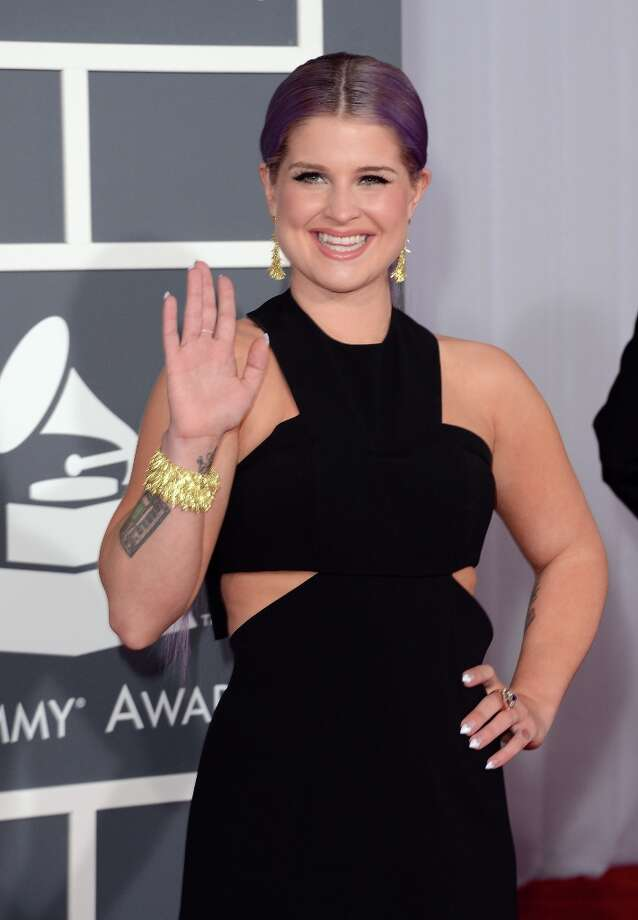 TV personality Kelly Osbourne arrives at the 55th Annual GRAMMY Awards at Staples Center on February 10, 2013 in Los Angeles, California. Photo: Jason Merritt, Getty Images / 2013 Getty Images