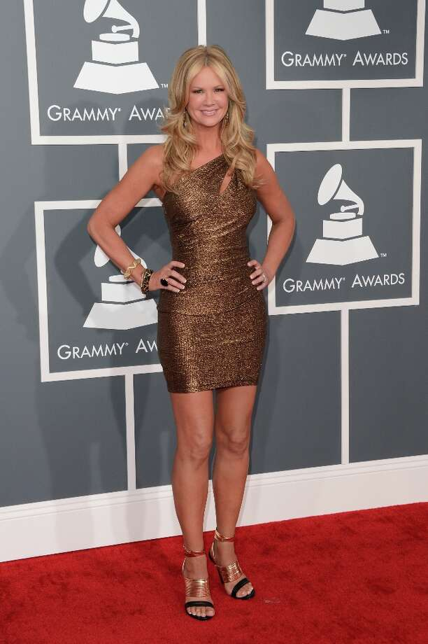 TV host Nancy O'Dell arrives at the 55th Annual GRAMMY Awards at Staples Center on February 10, 2013 in Los Angeles, California. Photo: Jason Merritt, Getty Images / 2013 Getty Images