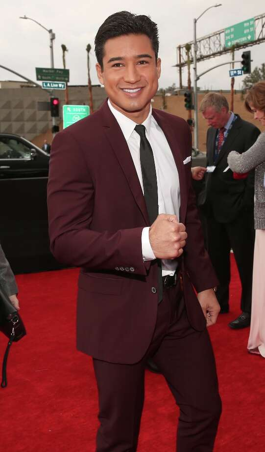 TV personality Mario Lopez attends the 55th Annual GRAMMY Awards at STAPLES Center on February 10, 2013 in Los Angeles, California. Photo: Christopher Polk, Getty Images For NARAS / 2013 Getty Images