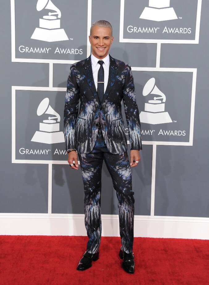 Jay Manuel arrives at the 55th annual Grammy Awards on Sunday, Feb. 10, 2013, in Los Angeles.  (Photo by Jordan Strauss/Invision/AP) Photo: Jordan Strauss, Associated Press / Invision