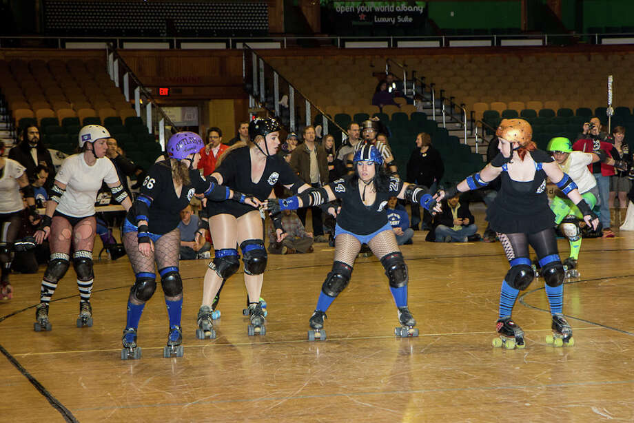 Were You Seen at the Albany All Stars Roller Derby Wedding Bells at the Washington Avenue Armory on Saturday, February 9, 2013? Photo: Brian Tromans