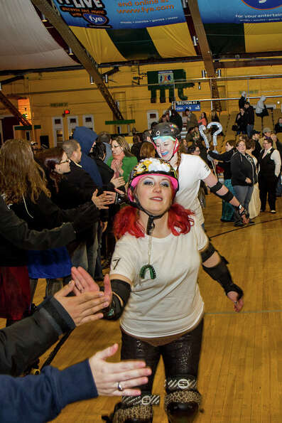 Were You Seen at the Albany All Stars Roller Derby Wedding Bells at the Washington Avenue Armory on