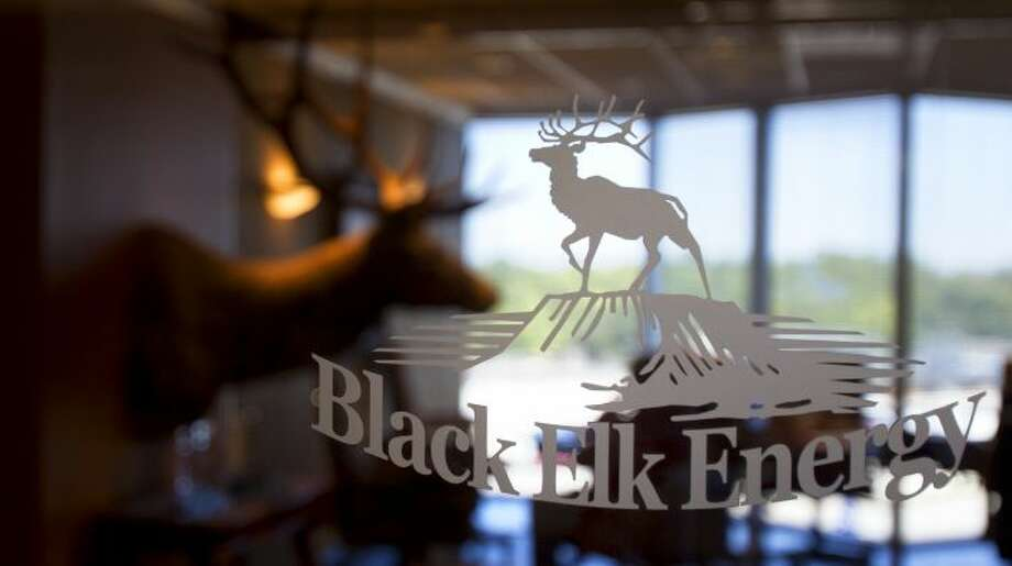 Black Elk Energy's sign is seen on the front of their office in the 11400 block of Katy Freeway, Friday, Nov. 16, 2012, in Houston.