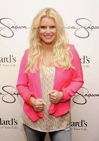 Jessica Simpson's new addition to the family. (2013)