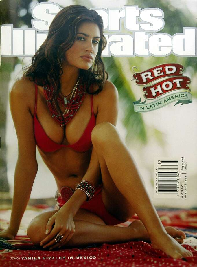 Yamila Diaz on the 2002 Sports Illustrated Swimsuit issue cover.