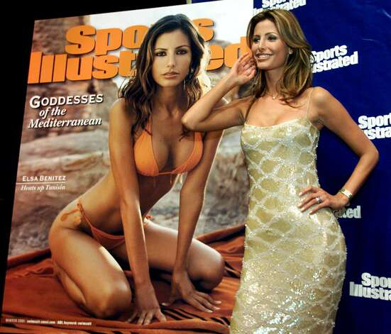 Elsa Benitez on the 2001 Sports Illustrated Swimsuit issue cover. Photo: Getty Images