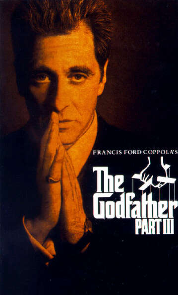 THE GODFATHER PART III (1990) - On second thought .....