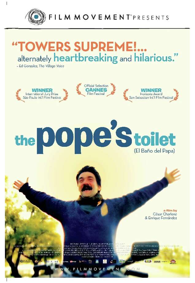 THE POPE'S TOILET (2007) - Only in Uruguay? More about anticipation than visitation, this Spanish-language film follows the hubbub in a small Uruguayan town over the upcoming 1988 stop by Pope John Paul II, hoping it would turn the people's fading fortunes around. [SPOILER ALERT: It didn't.]