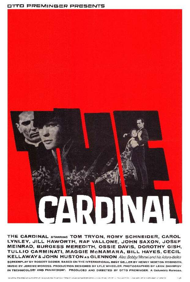 THE CARDINAL (1963) - This one is not about a pope per se, but an American priest who rises up the church ranks from his Boston parish to Rome on the eve of World War II. The key thing here, though: the movie's liaison officer from the Vatican was Joseph Ratzinger, who you might know better by his later name, Pope Benedict XVI.