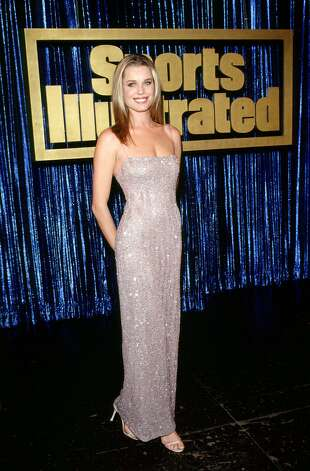Rebecca Romijn, 1999 Sports Illustrated Swimsuit issue cover girl.
