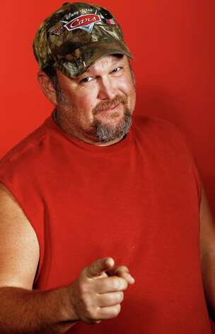 May 26: Larry the Cable Guy, Nutty Jerry's, Winnie. Tickets are $35 to $100 at NuttyJerrys.com Photo: Provided / AP2011