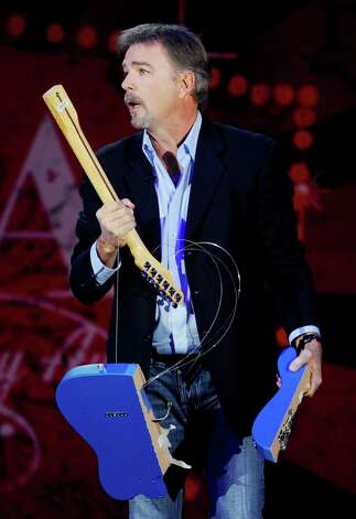LAS VEGAS, NV - DECEMBER 05:  Comedian Bill Engvall speaks onstage at the American Country Awards 2011 at the MGM Grand Garden Arena on December 5, 2011 in Las Vegas, Nevada.  (Photo by Ethan Miller/Getty Images) Photo: Ethan Miller, Staff / 2011 Getty Images
