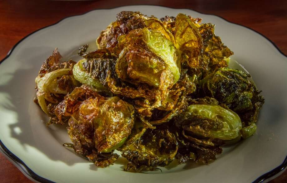 For vegetables and side dishes, don't pass up the whole fried Brussels sprouts ($7, pictured) with sea salt; macaroni and cheese ($8) with cream, Gruyere and parmesan; or kale ($7) sauteed with chunks of shallots and a touch of chile for added interest.
