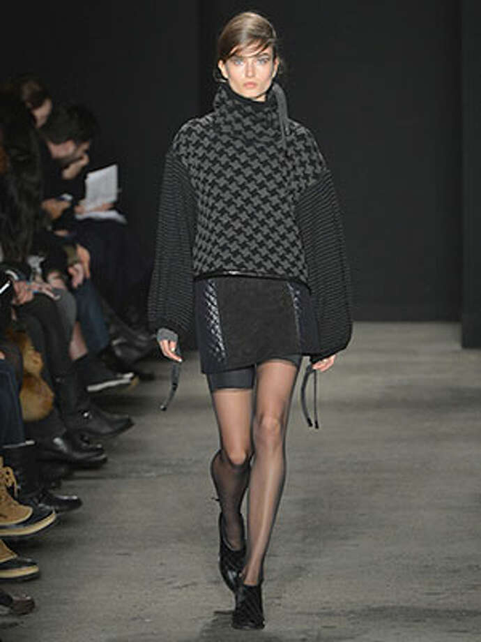 Rag and Bone We love how season after season designers David Neville and Marcus Wainwright prove that sexy doesn't have to come in the form of ultra-fitted silhouettes. Fall 2013 is no exception. We can't way to play with all these layers and textures too. Photo: Slaven Vlasic, Www.cosmopolitan.com / 2013 Getty Images