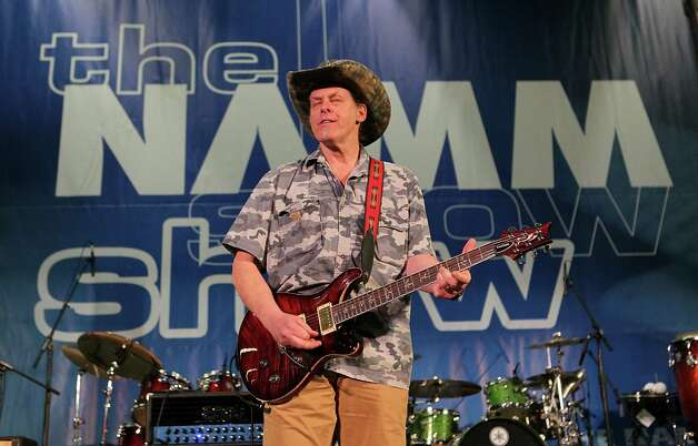 ANAHEIM, CA - JANUARY 16:  Musician Ted Nugent performs on stage at the 2010 NAMM Show - Day 3 at the Anaheim Convention Center on January 16, 2010 in Anaheim, California.  (Photo by David Livingston/Getty Images for NAMM) Photo: David Livingston / 2010 Getty Images