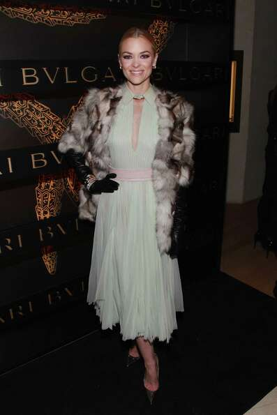 Actress Jaime King attends Bulgari Celebrates Icons Of Style: The Serpenti during Fall 2013 Fashio