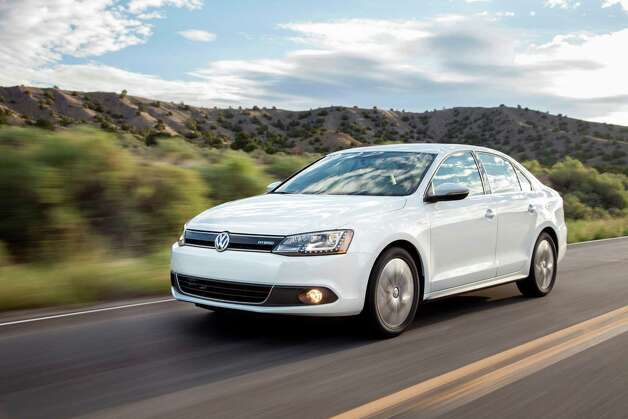"Volkswagen Jetta Hybrid: Volkswagen has made a name for itself building more efficient diesel engines. The Jetta Hybrid is the automakers attempt at winning over some of the hybrid market from its rivals. What Edmunds says: ""If you just want a really nice Jetta that's completely normal to drive and happens to get about 45 mpg, you won't blink at the2013 Volkswagen Jetta Hybrid's hefty price tag.""