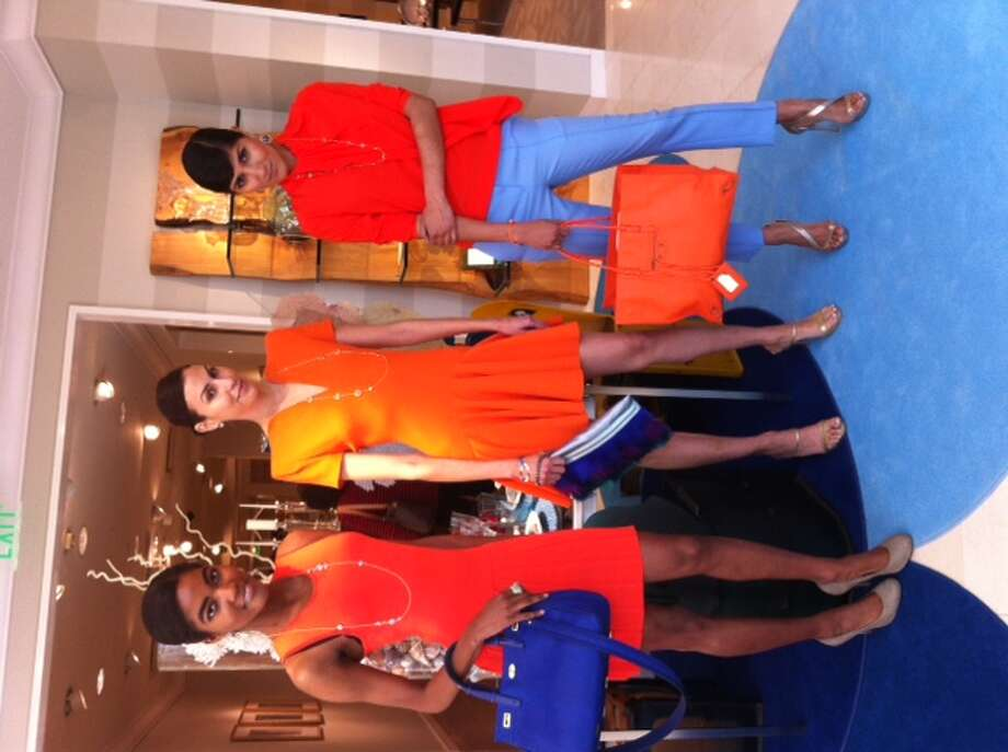 Neiman Marcus treats vibrant orange as the new neutral.
