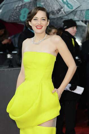 Marion Cotillard attends the EE British Academy Film Awards at The Royal Opera House on February 10, 2013 in London, England. Photo: Ian Gavan, Getty Images / 2013 Getty Images