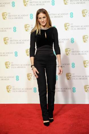 Sarah Jessica Parker poses in the press room at the EE British Academy Film Awards at The Royal Opera House on February 10, 2013 in London, England. Photo: Stuart Wilson, Getty Images / 2013 Getty Images